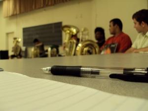 Pen and tubas