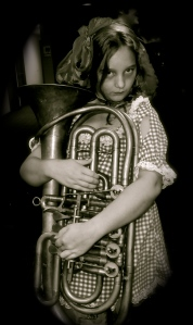 Zombie Rag-Doll Tuba Girl