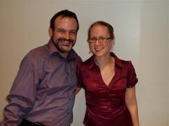 Alan and Carol after their amazing recital