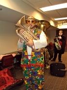 Blaine at Spooky Tubas