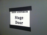 (Stage Door)